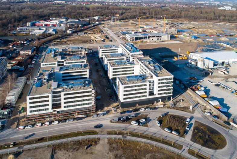 Zukünftiger Schwerpunkt in der neuen VW-Welt: Der IN-Campus in Ingolstadt. Foto: Audi