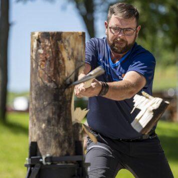Viel Gefühl fürs Holz