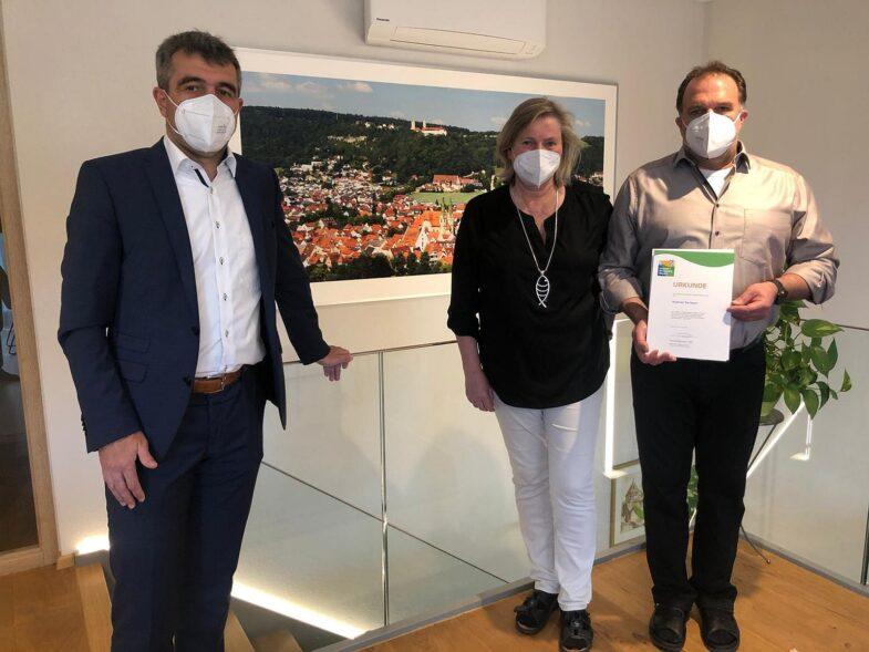 """Nachhaltigkeitszeugnisse für Aurora und """"Gams"""""""