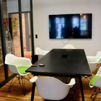 Kreative Büroluft