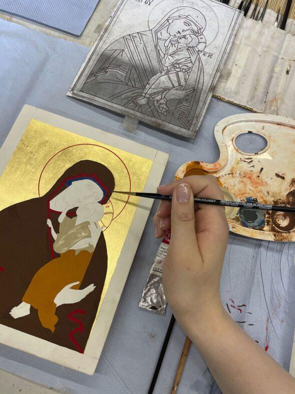 Uralte sakrale Kunst lebt weiter